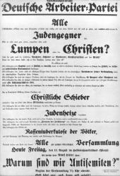 NSDAP-Plakat